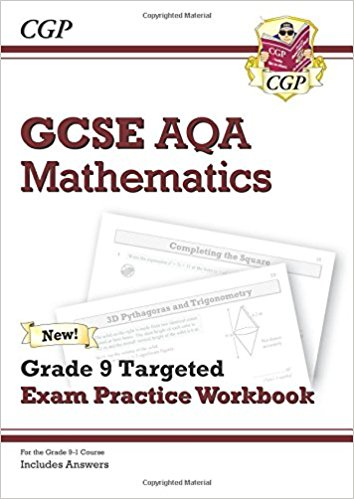 GCSE Maths AQA Grade 8-9 Targeted Exam Practice Workbook