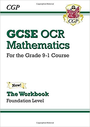 GCSE Maths OCR Workbook: Foundation - for the Grade 9-1 Course