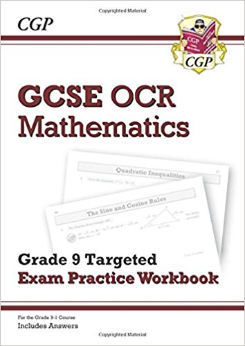 GCSE Maths OCR Grade 9 Targeted Exam Practice Workbook